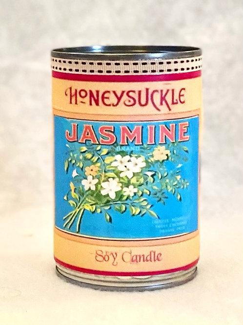 Honeysuckle & Jasmine Tin Candle