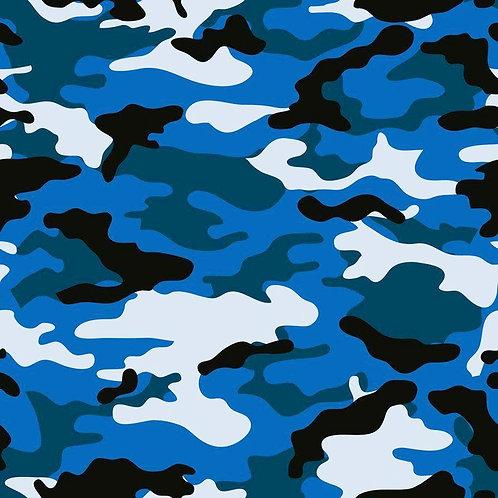 Camouflage Blue Mask