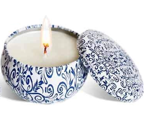 """Lavender & Rosemary """"Relax & Balance"""" Soy 4 oz. Candle"""