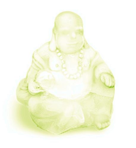 """Peppermint & Bergamont """"Energize & Uplift"""" Buddha Soap"""