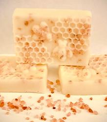 Honey, Goat Milk & Himalayan Pink Salt Soap