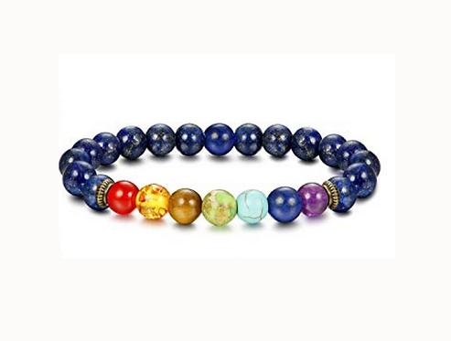 Blue Turquoise Chakra Bracelet