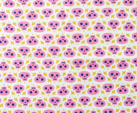 Pink Skulls Mask