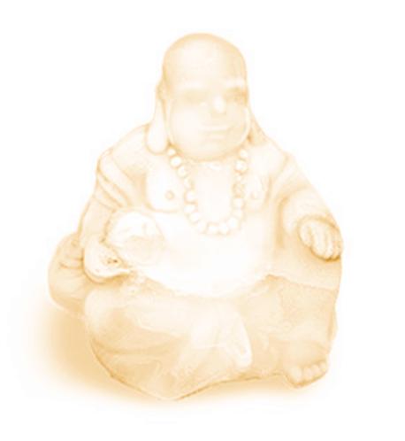 "Orange Blossom ""Happy"" Buddha Soap"