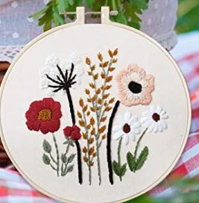 Gardener's Garden Embroidery Starter Kit