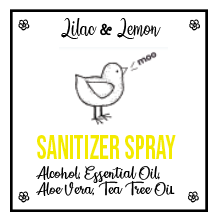 Lilac & Lemon Sanitizer Spray
