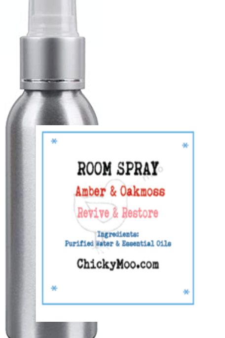 Amber & Oakmoss Room Spray