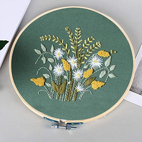 Wildflowers Embroidery Starter Kit