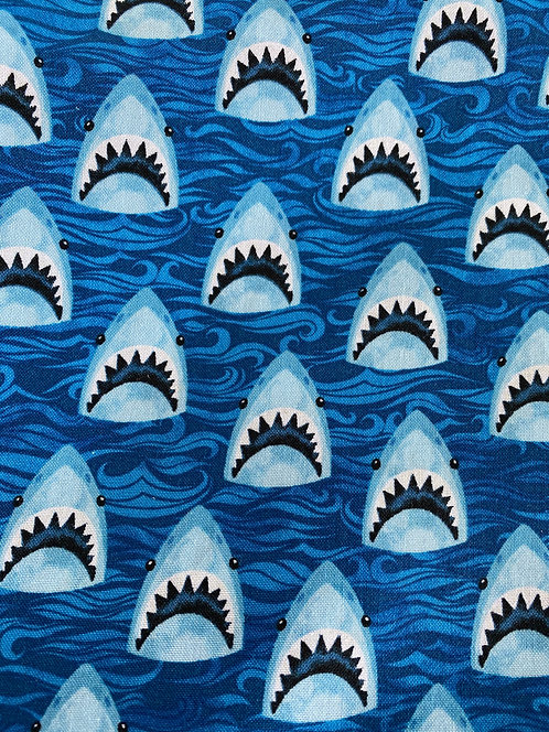 Shark Week Mask