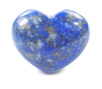 Small Gemstone Heart - Lapis Lazuli