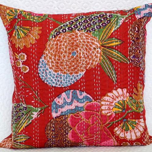 Boho Pillow - Red