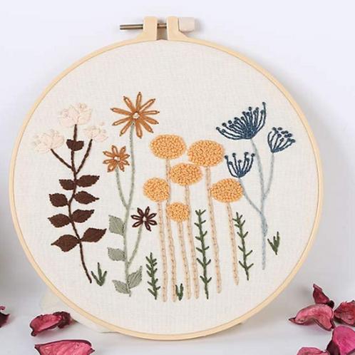 Garden Embroidery Starter Kit