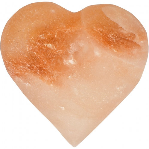 Lg Heart Stone Carving- Himalayan Salt