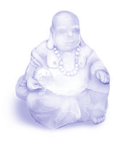 "Lavender & Rosemary ""Balance & Relax"" Buddha Soap"