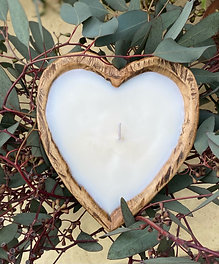 Heart Dough Bowl Soy Candle