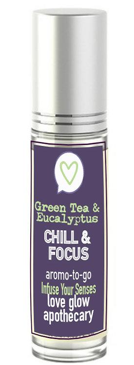 "Green Tea & Eucalyptus ""CHILL & FOCUS"""