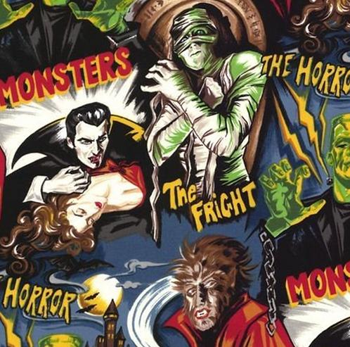 Vintage Horror Poster Halloween Mask