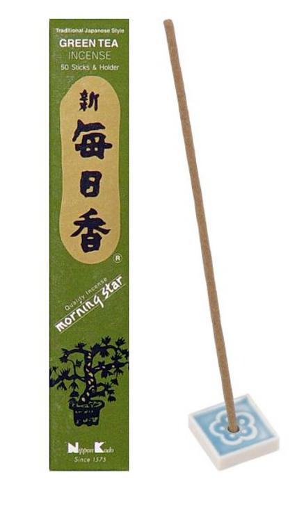 Morning Star Incense-  Green Tea
