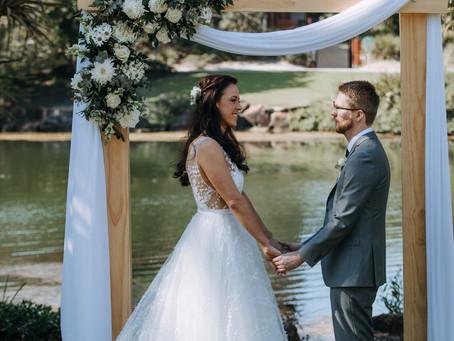 Real Wedding - White, greenery & timber