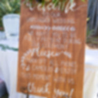 wedding welcome unplugged sign