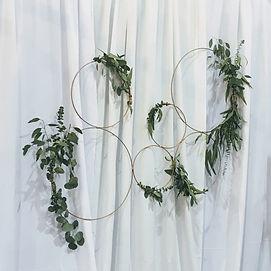 foliage hoops