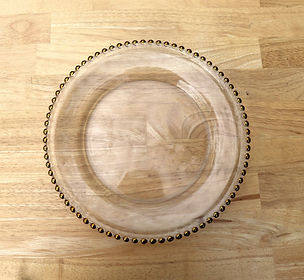 gold beaded charger plate.JPG