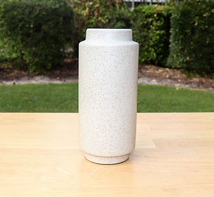 white speckled vase.JPG