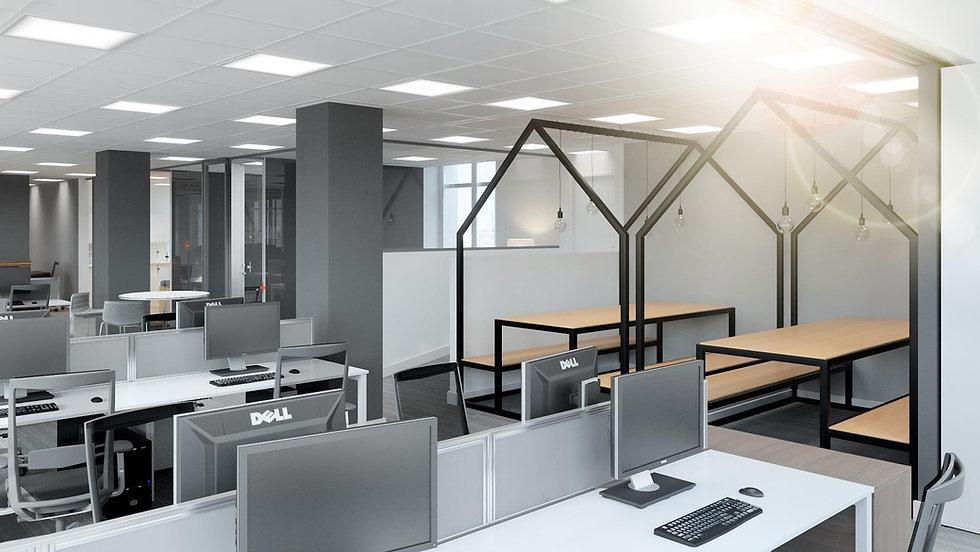 Nationwide Office Refurbishment - Total Interior Contracts Ltd