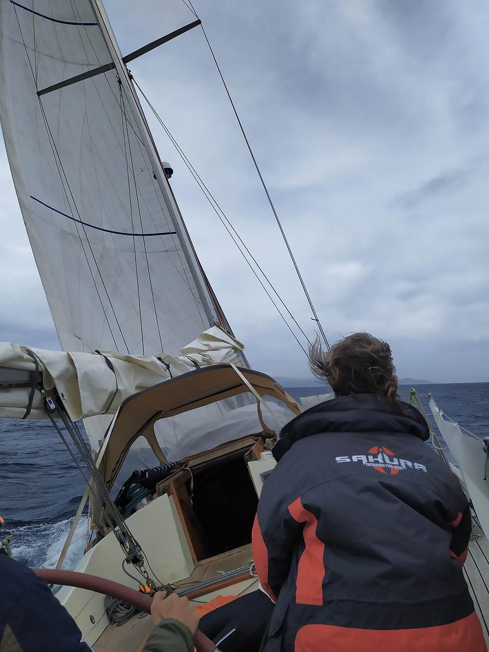 Navigation à la voile de Porquerolles à Port-Cros