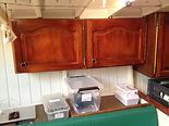 Intérieur d'un voilier ketch