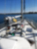 Pont voilier Oceanis 40
