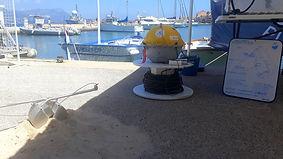 Stand de sensibilisation à la pollution plastique par l'équipage SEA Plastics à l'occasion des Rades Bleues à Toulon