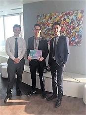 Sea Plastics lauréats du prix PEYMPA de EY lors de la grande finale du meilleur projet associatif en 2019
