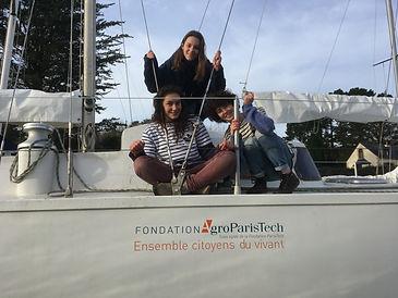 La Fondation AgroParisTech soutient des initiatives étudiates comme celle de SEA Plastics, association engagée pour la protection des océans