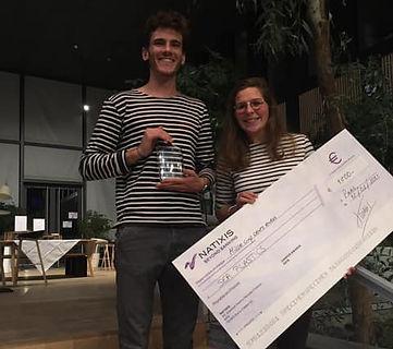 """Sea Plastics remporte le prix """"Coup de coeur"""" de l'appel à projet C.A.M.P.U.S. Awards mené par Natixis"""