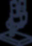 Icone de loupe binoculaire
