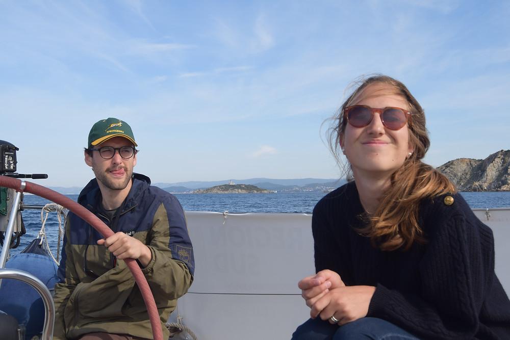 Départ de l'expédition SEA Plastics 2020 de l'île des Embiez après le confinement