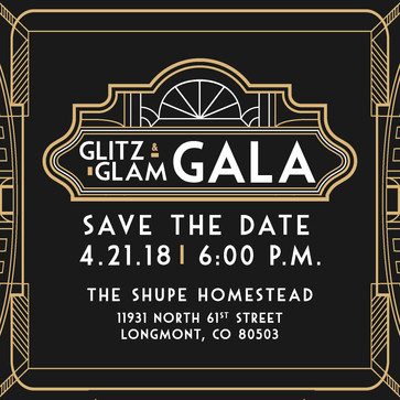 Glitz & Glam Gala logo