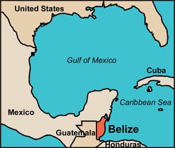 Belize Map 1