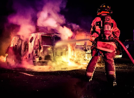 Vehicle Fire On Kulick Road Quickly Extinquished