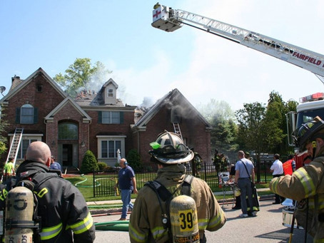 Firefighters Battle Structure Fire On Ralph Drive