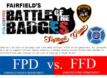 Fairfield Battle Of The Badges Charity Event