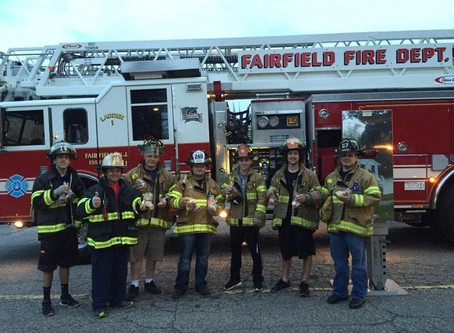 "Winston Churchill School Provides ""Cookies for Courage"" to Fairfield Firefighters"