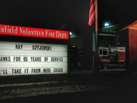 Fairfield Firefighters Mourn The Loss of 65 Year Veteran Ray Ozyjowski