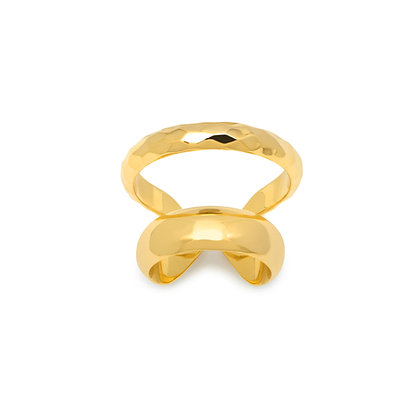 CLEO DOUBLE RING