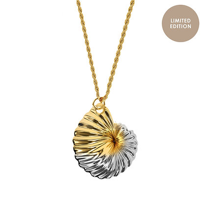 MORO NECKLACE TWO TONE