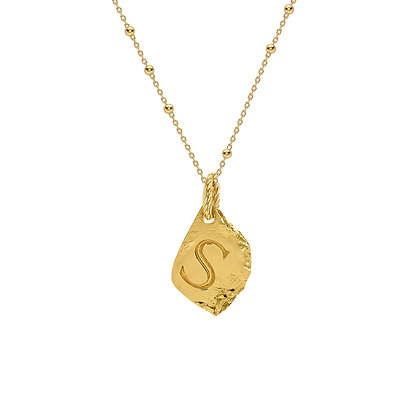 """INITIAL NECKLACE """"S"""""""