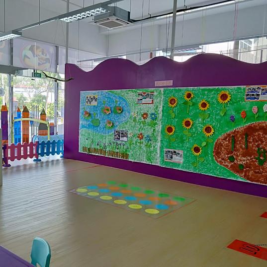 sensorial play area