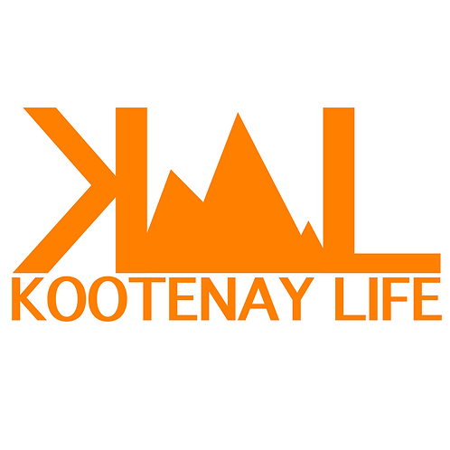 OG Kootenay Life Sticker - Orange