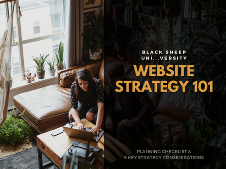 Website Strategy 101